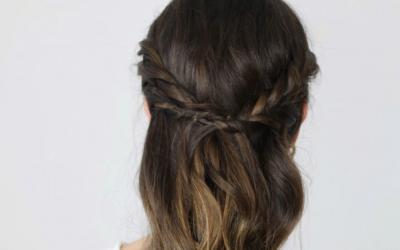 Dos opciones de peinado en uno -Súper fácil-